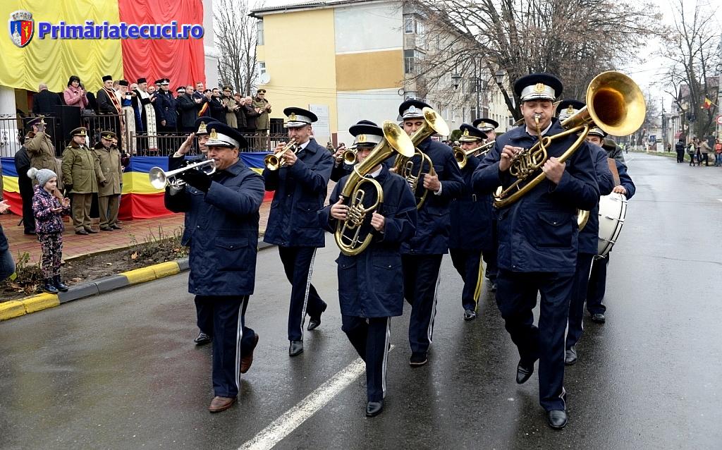 Fanfara Ziua Nationla a Romaniei la Tecuci 2017