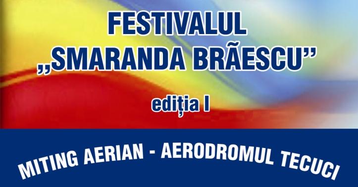 """Festivalul """"Smaranda Brăescu"""". Miting Aerian la Aerodromul Tecuci"""