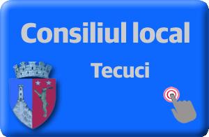 Pagina oficiala a Consiliului local din Tecuci