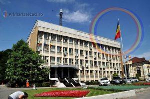 Ziua Drapelului cinstită de Primăria municipiului Tecuci