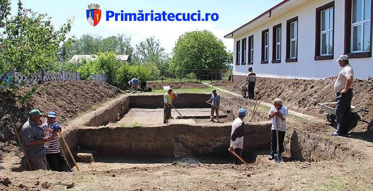 Muzeul de istorie Teodor Cincu Tecuci - Situl Arheologic Negrilesti iul 2017