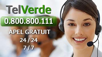 TelVerde număr de urgenţă GRATUIT
