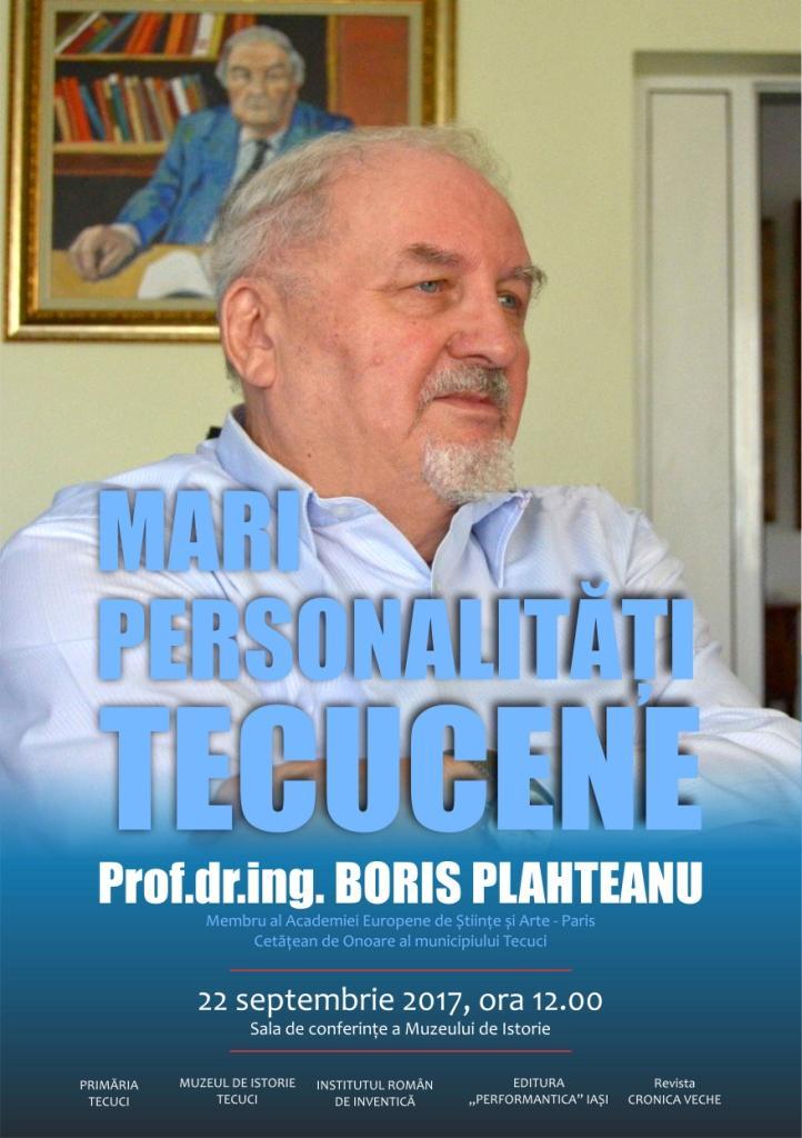 Afis Boris Plahteanu Tecuci