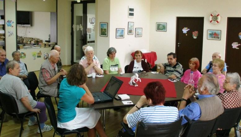 Proiect european persoane vârstnice Tecuci