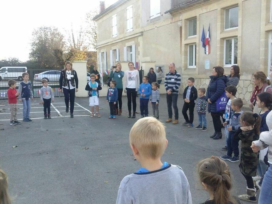 Erasmus Energy for life intalnire transnatională in Franta