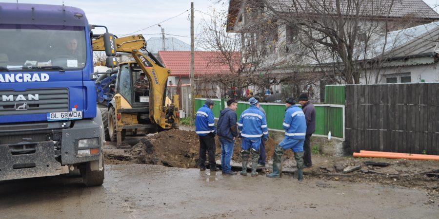 Apa Canal Galati - anunt avarie conducta apa in Tecuci