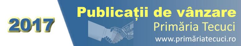 Publicații de vânzare 2017 Tecuci