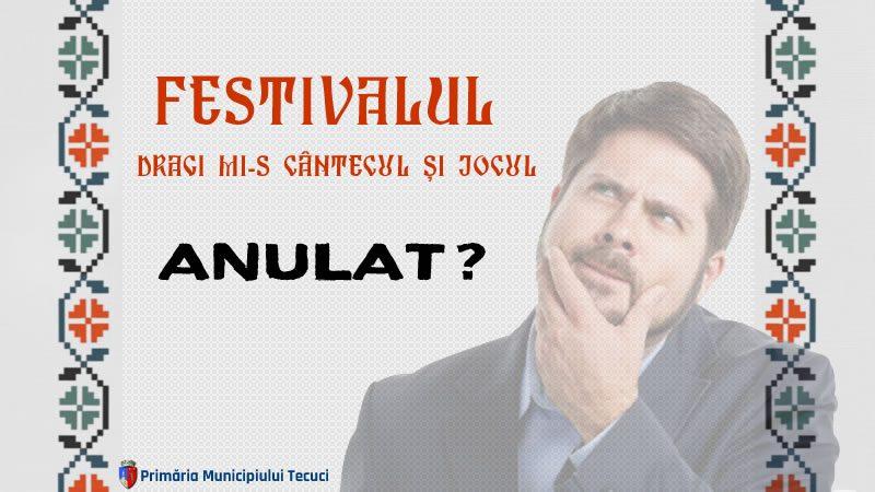 Referitor la anularea Festivalului de folclor