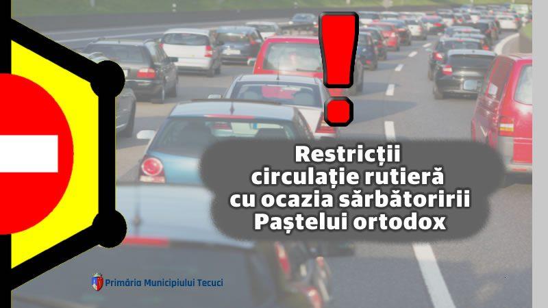 Restricții circulație rutieră