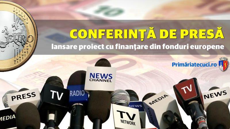 Conferință lansare proiect