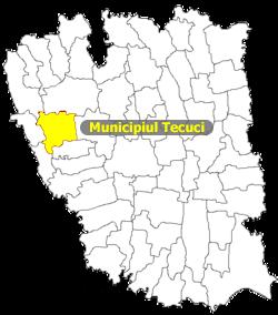 Municipiul Tecuci date importante