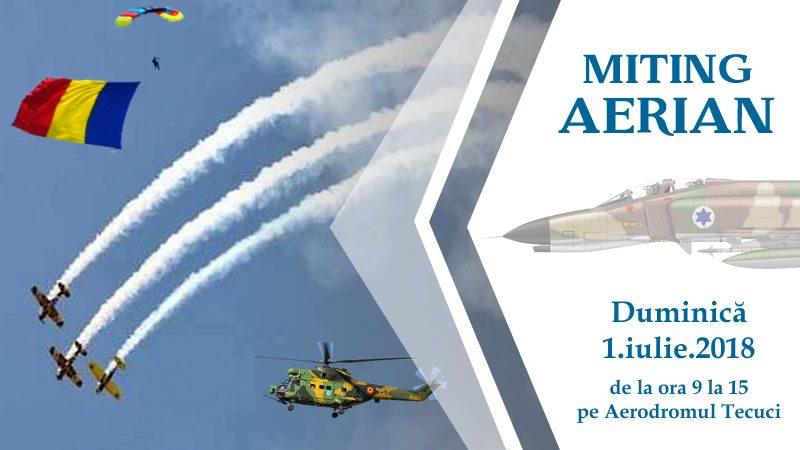 Miting Aerian la Tecuci - 2018