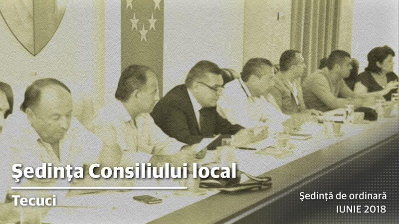 Sedinta ordinara a Consiliului Local