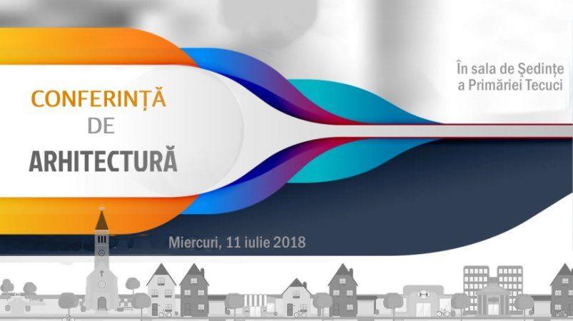 Conferință de arhitectură la Tecuci