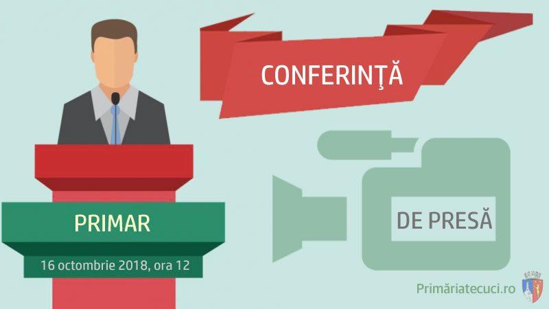Conferinta de presa Investitii si proiecte europene