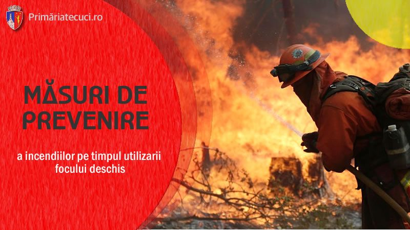 Masuri de prevenirea incendiilor Tecuci