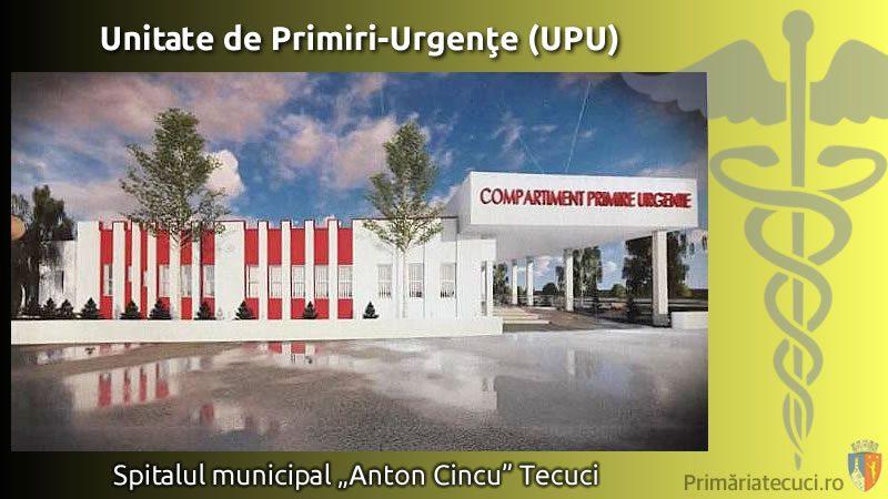 Unitate de Primiri-Urgențe la Spitalul Tecuci