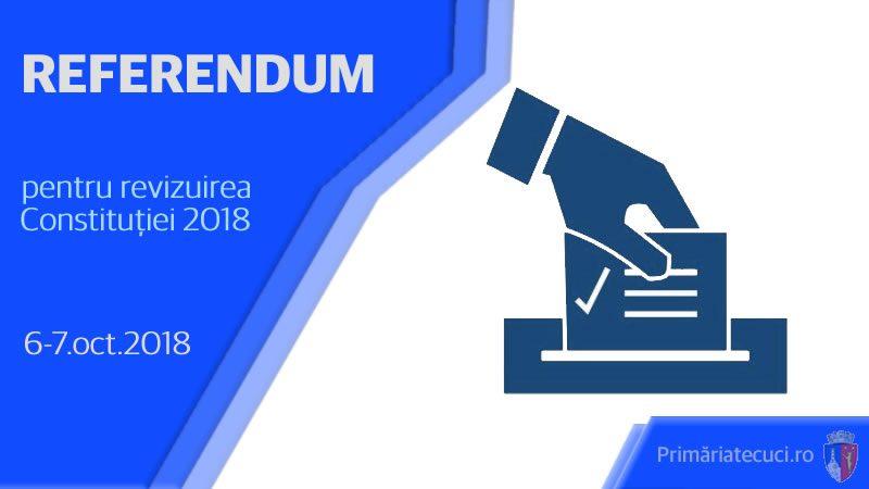 Delimitarea secţiilor de votare ptr referendumul naţional