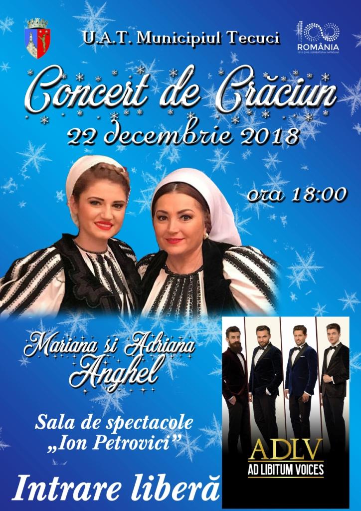 ANGHEL Concert de Caraciun la Tecuci