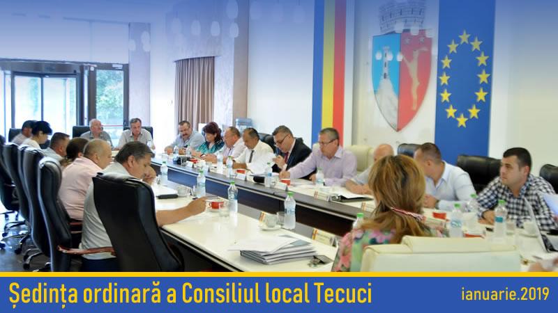 Sedinta ordinara Consiliul local ianuarie
