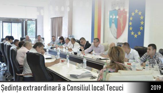 Ședință extraordinară Consiliului Local