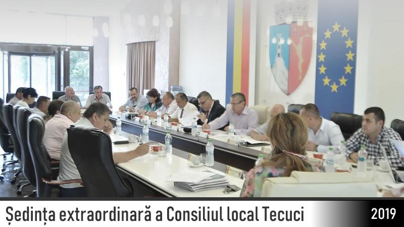Consiliul local Tecuci extraordinara 2019