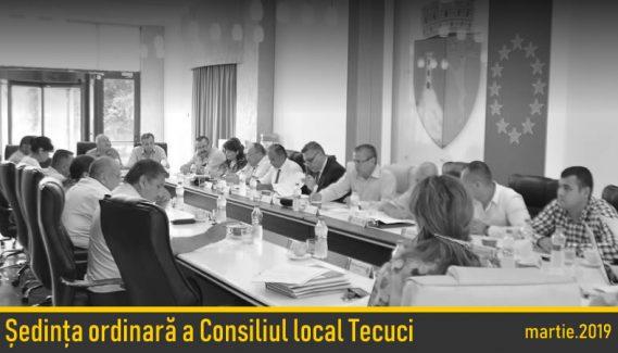 Ședință ordinară a Consiliului Local martie
