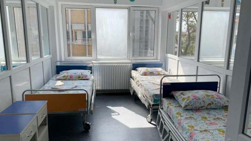 """Secția de pediatrie a Spitalului municipal """"Anton Cincu"""" 1"""