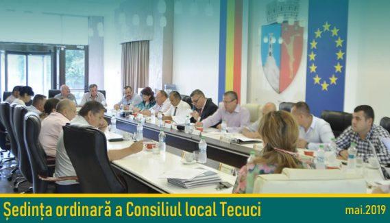 Ședință ordinară Consiliului Local