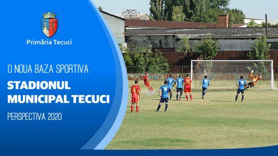 Stadionul municipal Tecuci
