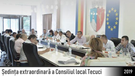 Sedinta extraordinara a Consiliului Local