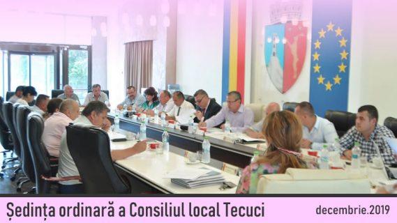 Consiliul local Tecuci decembrie 2019
