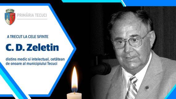 A murit C D Zeletin 2020-Tecuci