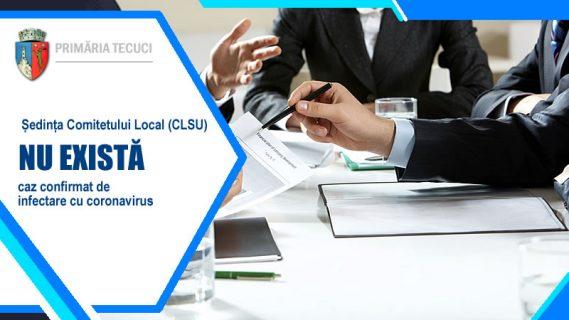Sedinta comitetului local CLSU Tecuci 2020