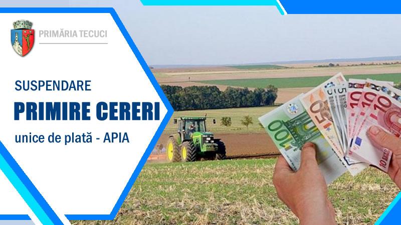 Suspendare-plati-APIA-Tecuci